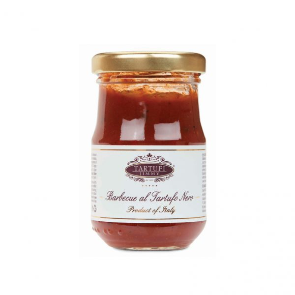 black truffle barbecue and sauce
